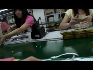 Как делают китайские планшеты за 50$ на заводе)